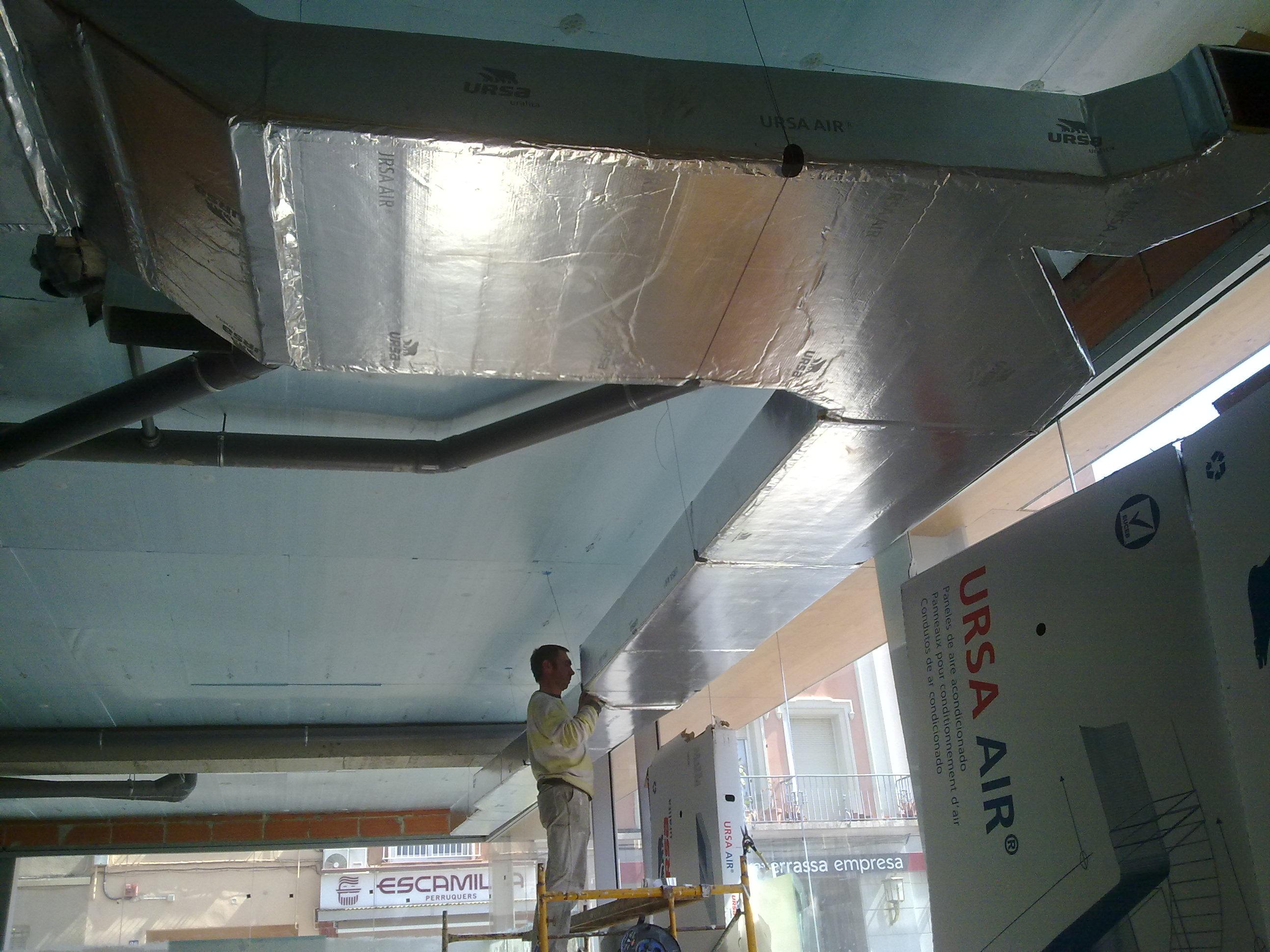 Instalacion de aire acondicionado por conductos for Instalacion de aire acondicionado por conductos